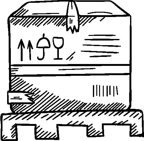 Palettenskizze